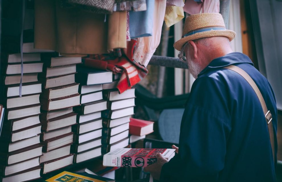 Old Man with The Book